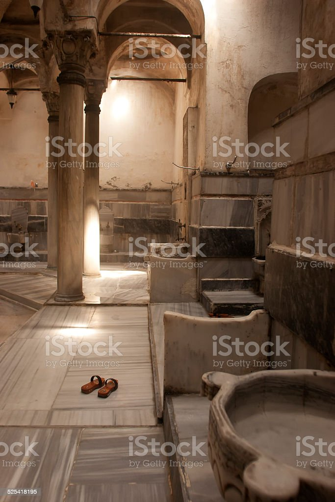 Turkish hammam stock photo