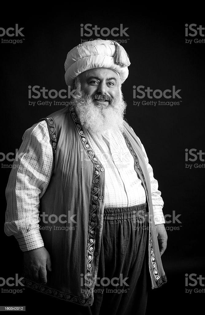 Turkish Imam stock photo