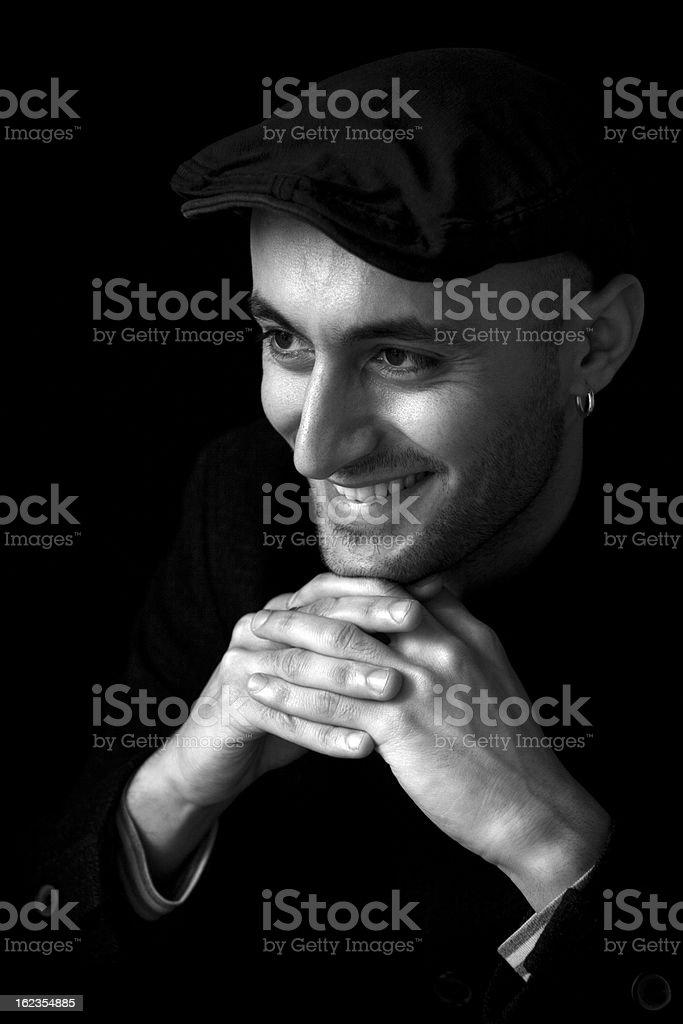Turkish man portrait, royalty-free stock photo