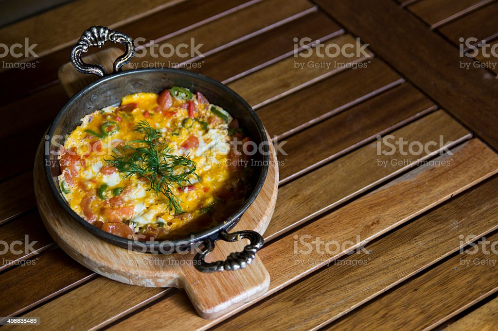 Turkish meal stock photo