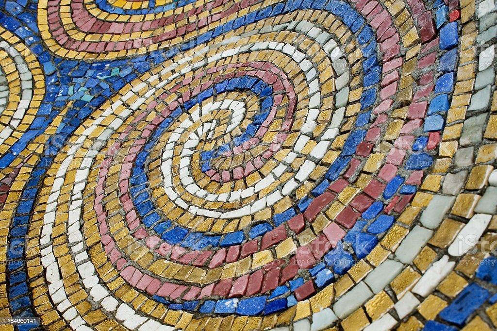 Turkish mosaic stock photo