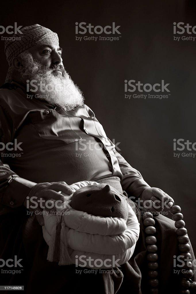 Turkish Old Man stock photo