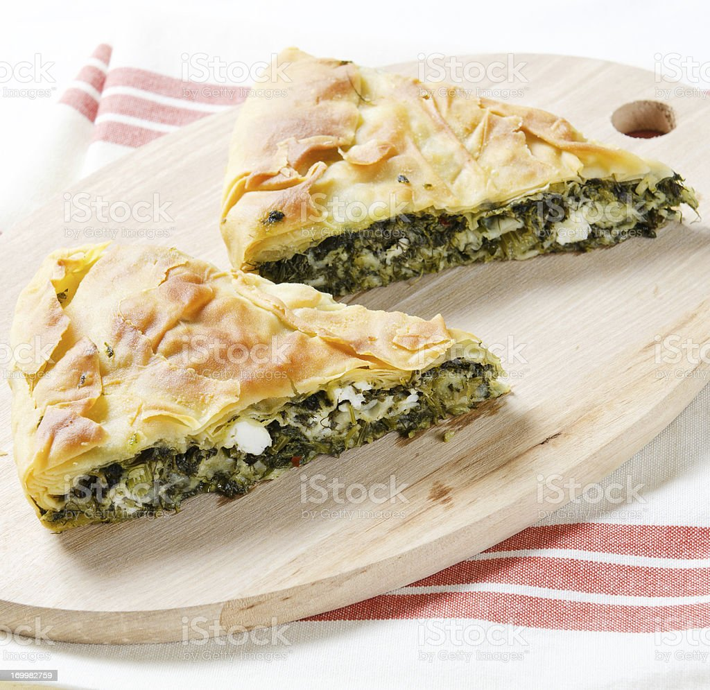 Turkish Pastry stock photo