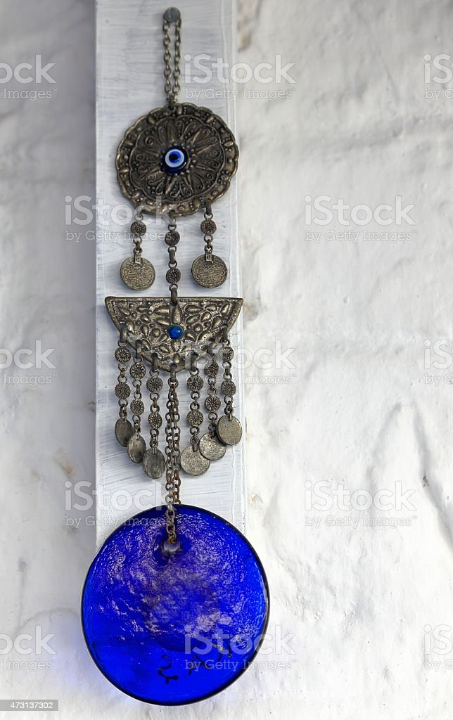 Turkish periapt stock photo