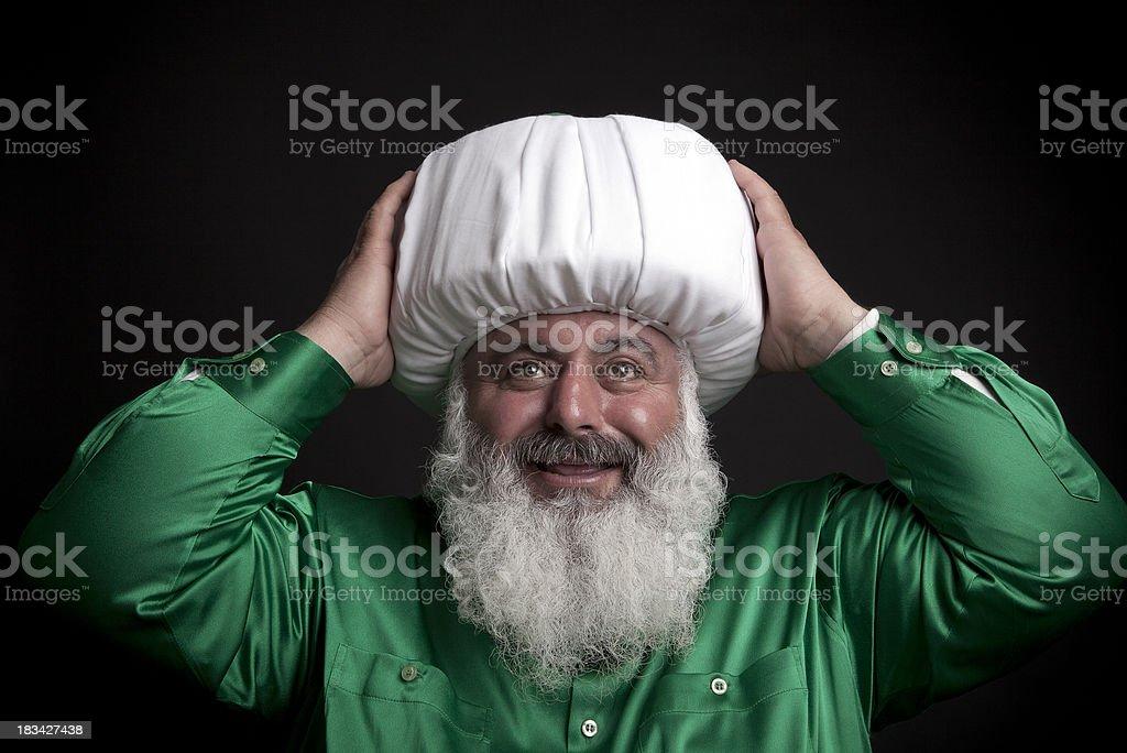Turkish Prayer leader stock photo