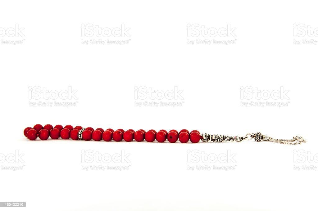 Turkish rosary stock photo