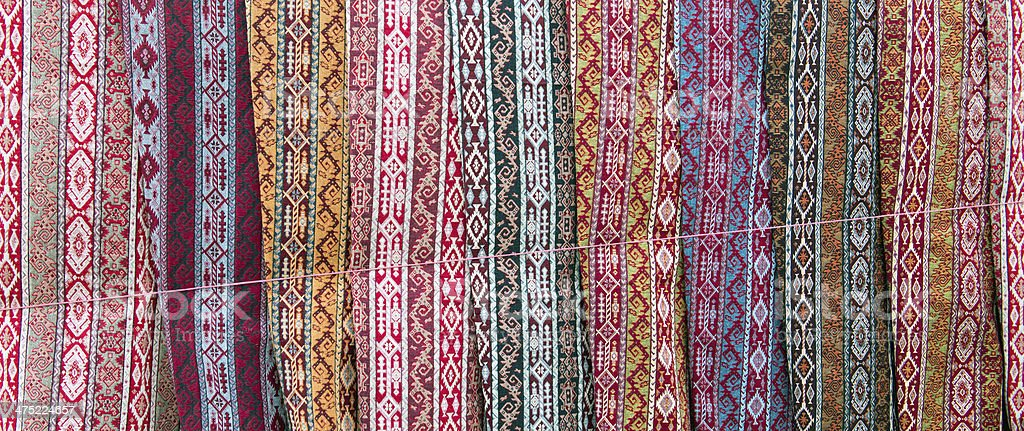 Turkish rugs royalty-free stock photo