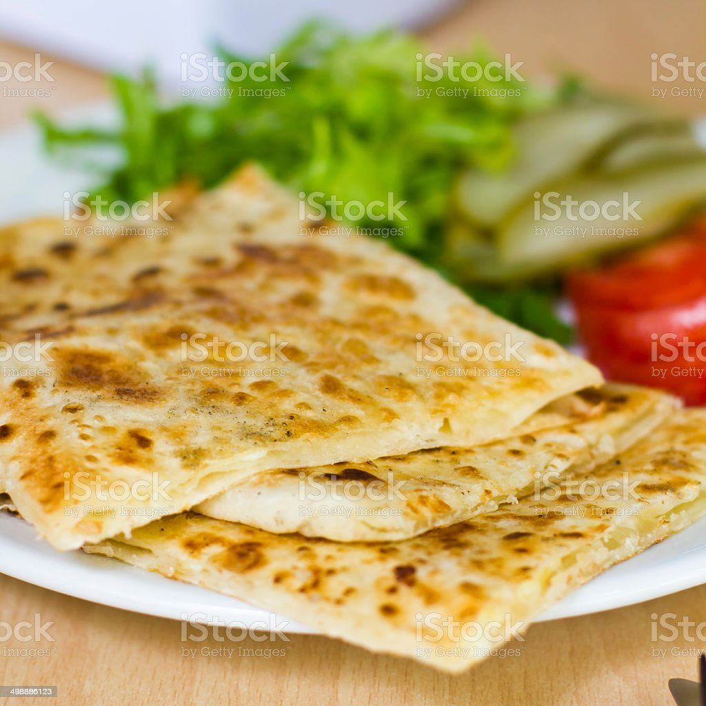 Turkish salad stock photo