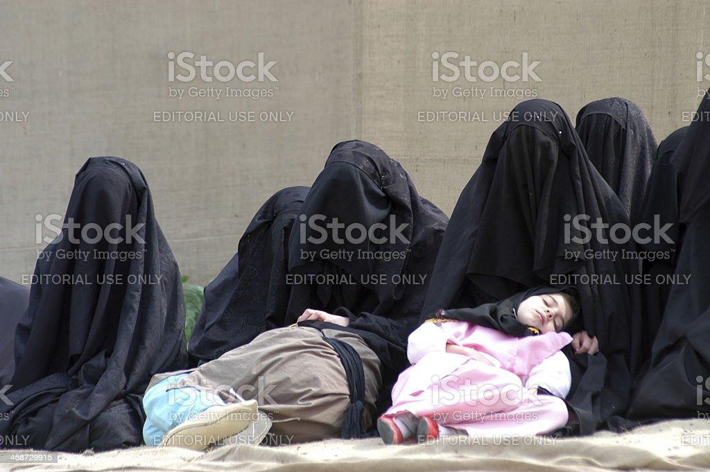 Turkish Shiite stock photo