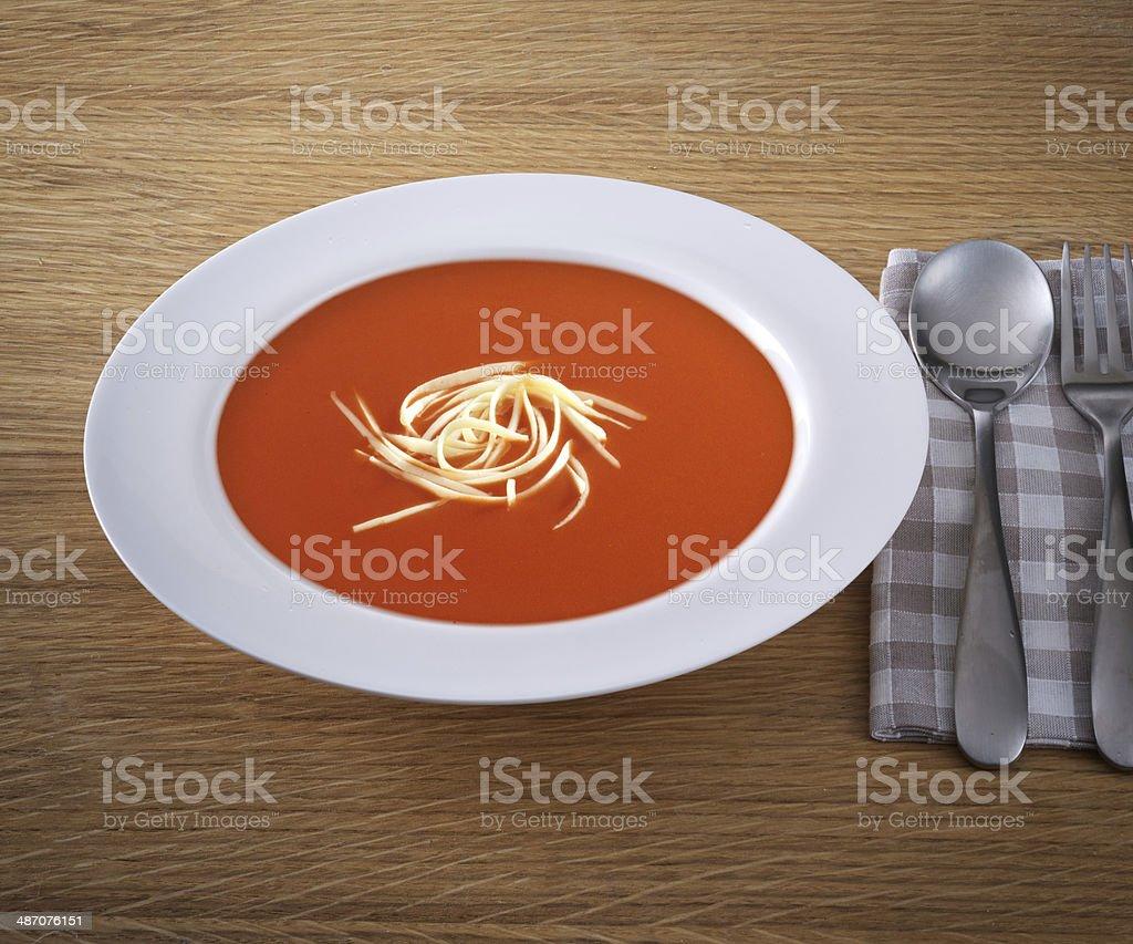 Turkish Soup stock photo