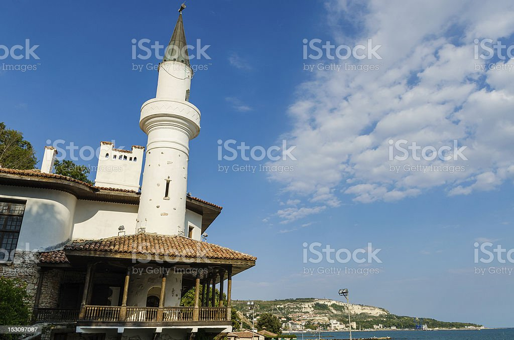 Turkish style tower royalty-free stock photo