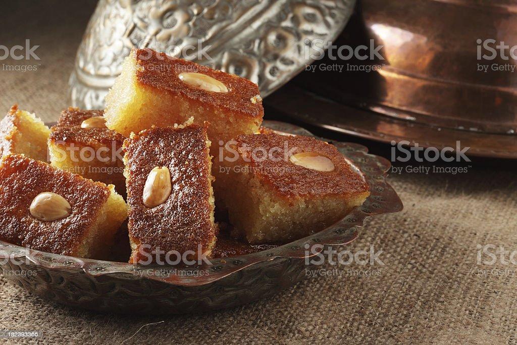 Turkish Sweet Food stock photo