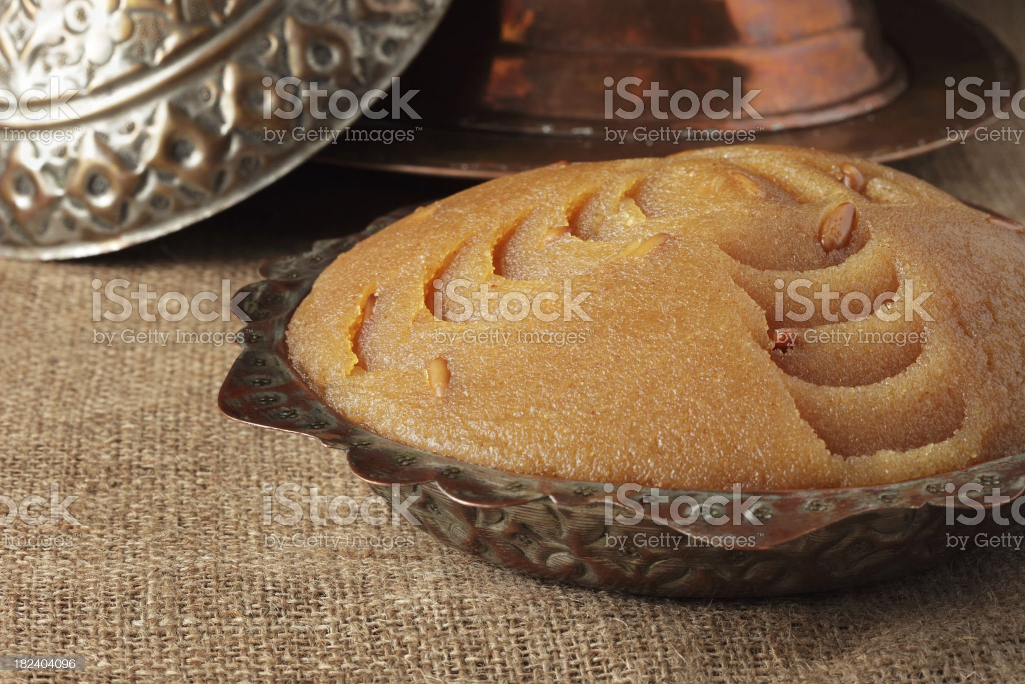 Turkish Sweet Food royalty-free stock photo