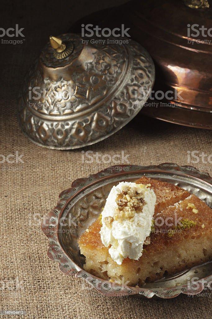 Turkish Sweet Food royalty-free stock photo