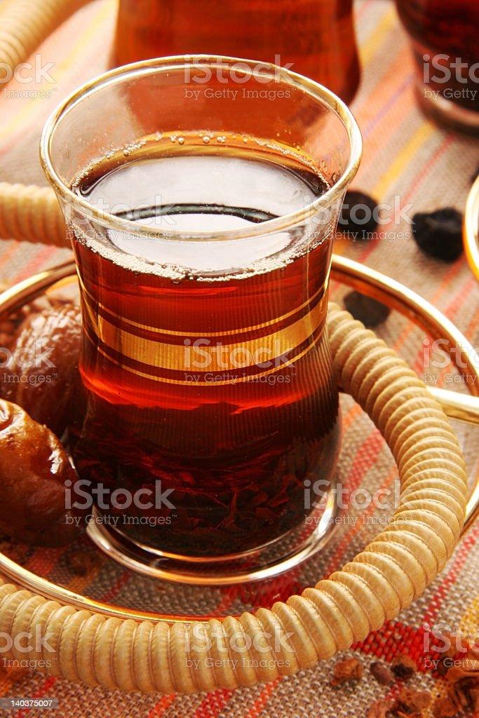 Turkish tea. royalty-free stock photo