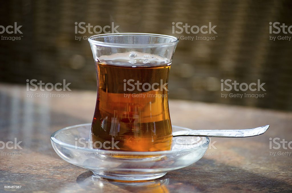 Turkish Tea stock photo