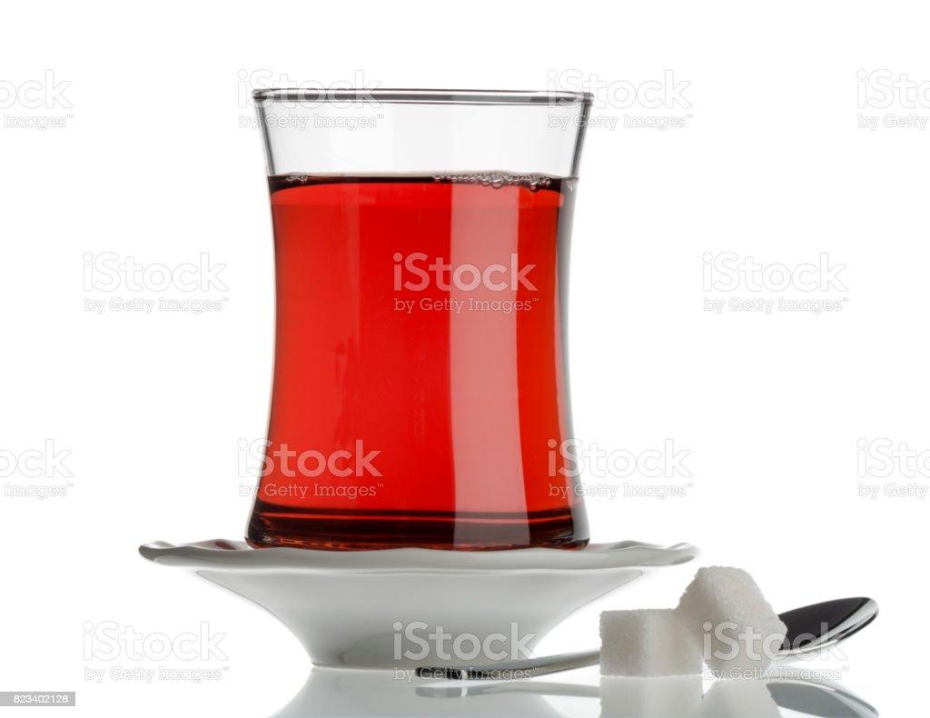 Turkish Tea stock photo