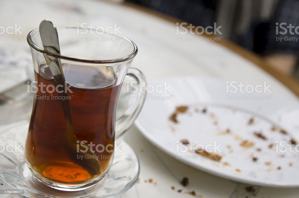 Turkish tea time royalty-free stock photo