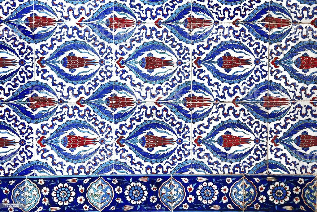 Turkish Tile stock photo