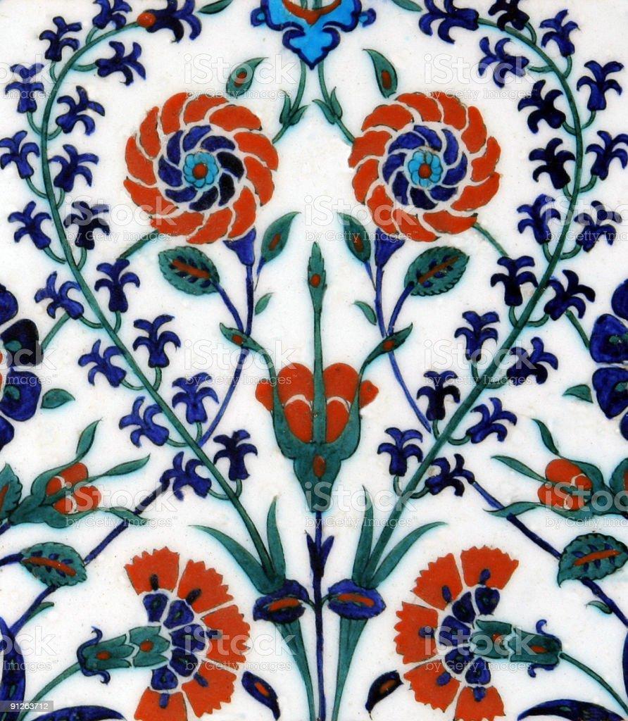Turkish Tiles - 13 royalty-free stock photo