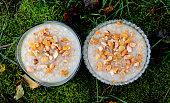 Turkish traditional dessert ashure (Noah's Pudding)