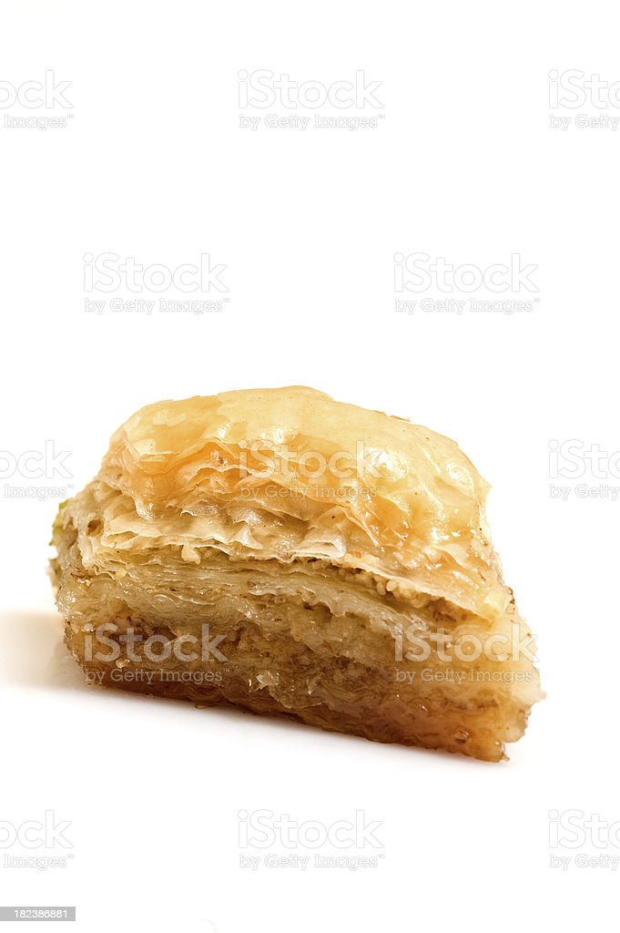 turkish traditional dessert baklava stock photo