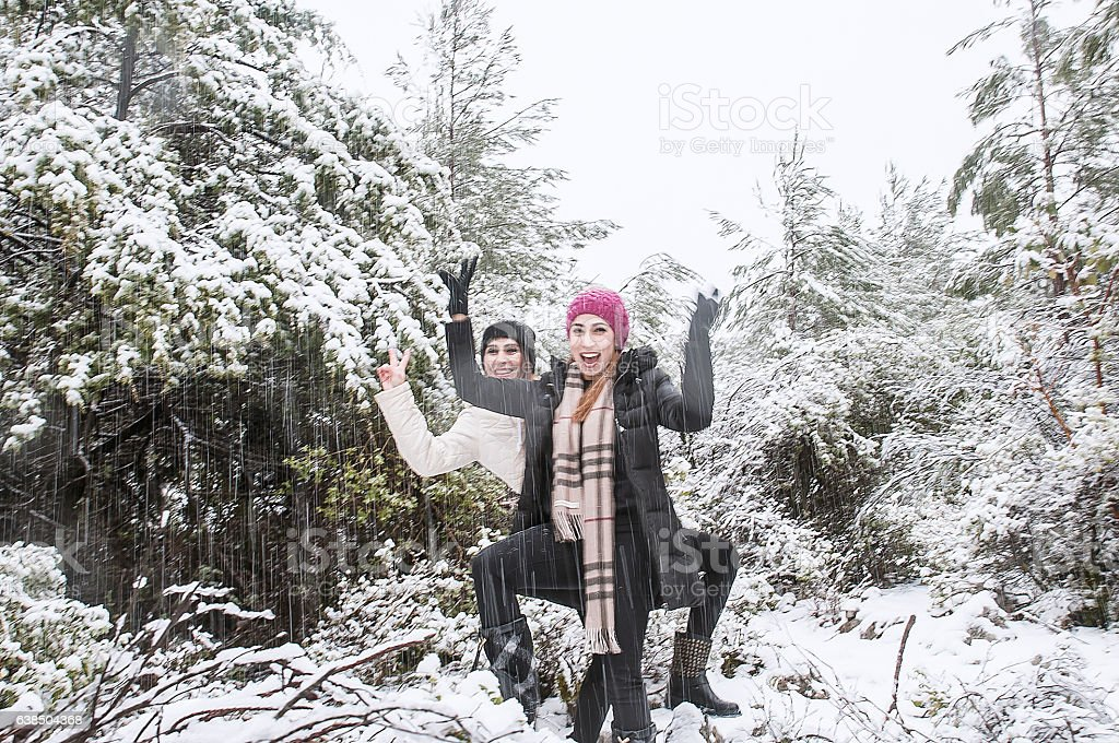 Turkish women on weekend stock photo