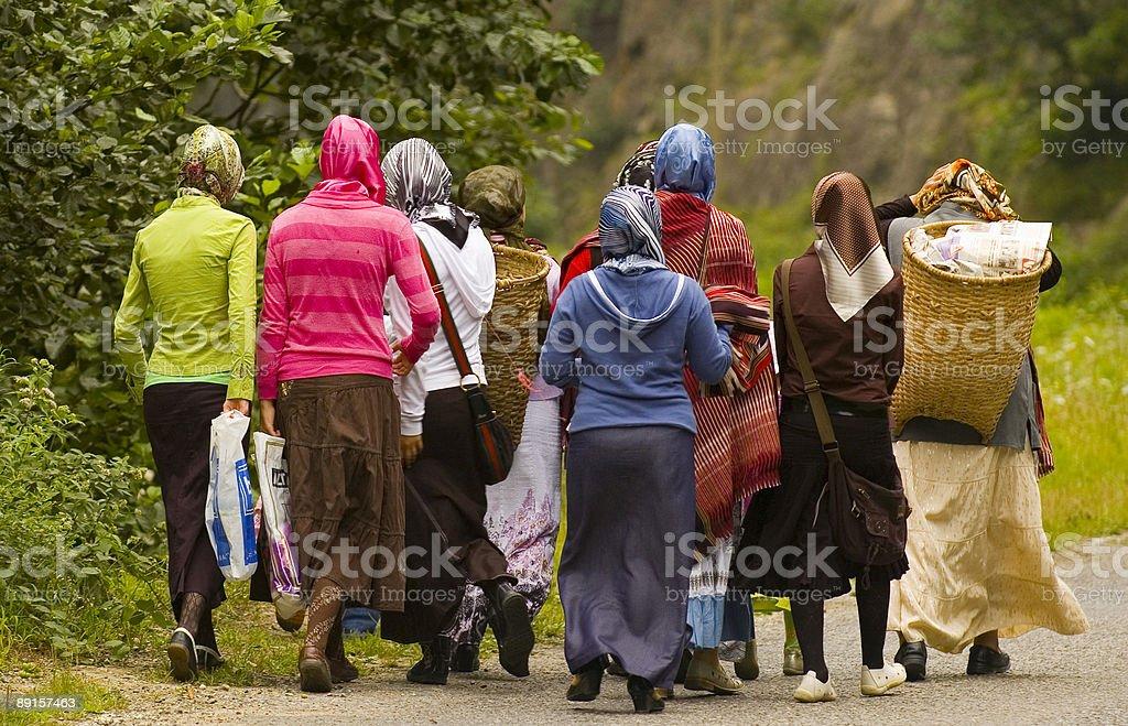 トルコの女性 ロイヤリティフリーストックフォト