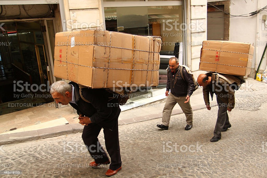 turkish workers royalty-free stock photo