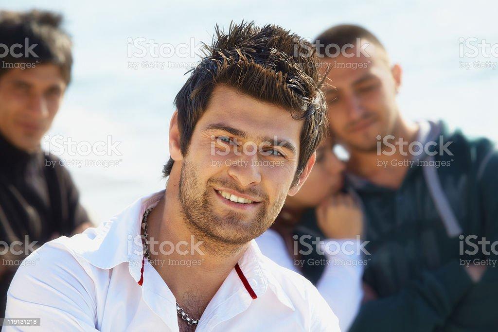 Turkish young man stock photo