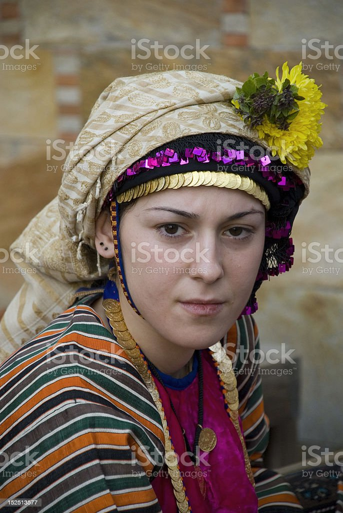 turkish young woman royalty-free stock photo