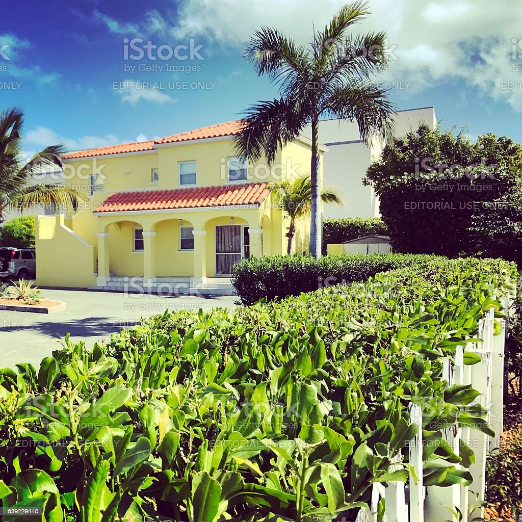 Turks and Caicos Islands Luxury Properties for sale stock photo