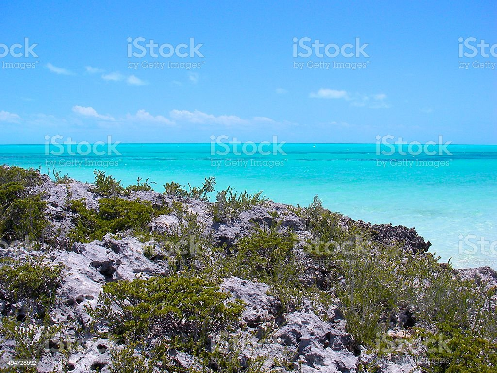 Turks and Caicos stock photo