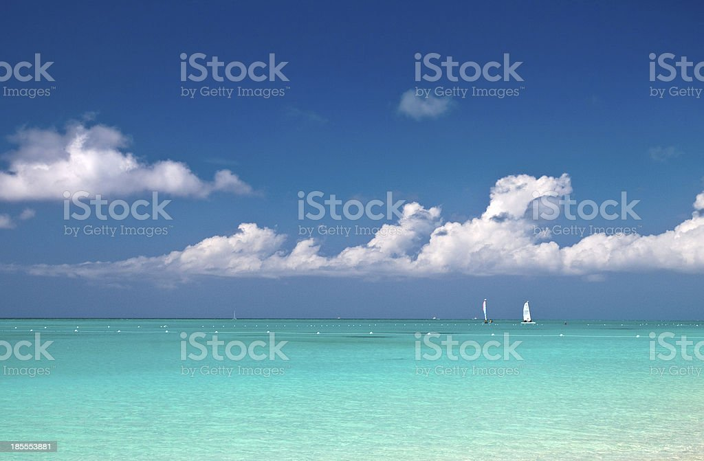 Turks and Caicos Scenic stock photo