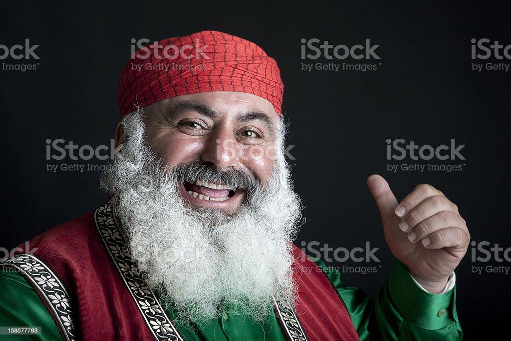 Turkısh Imam stock photo