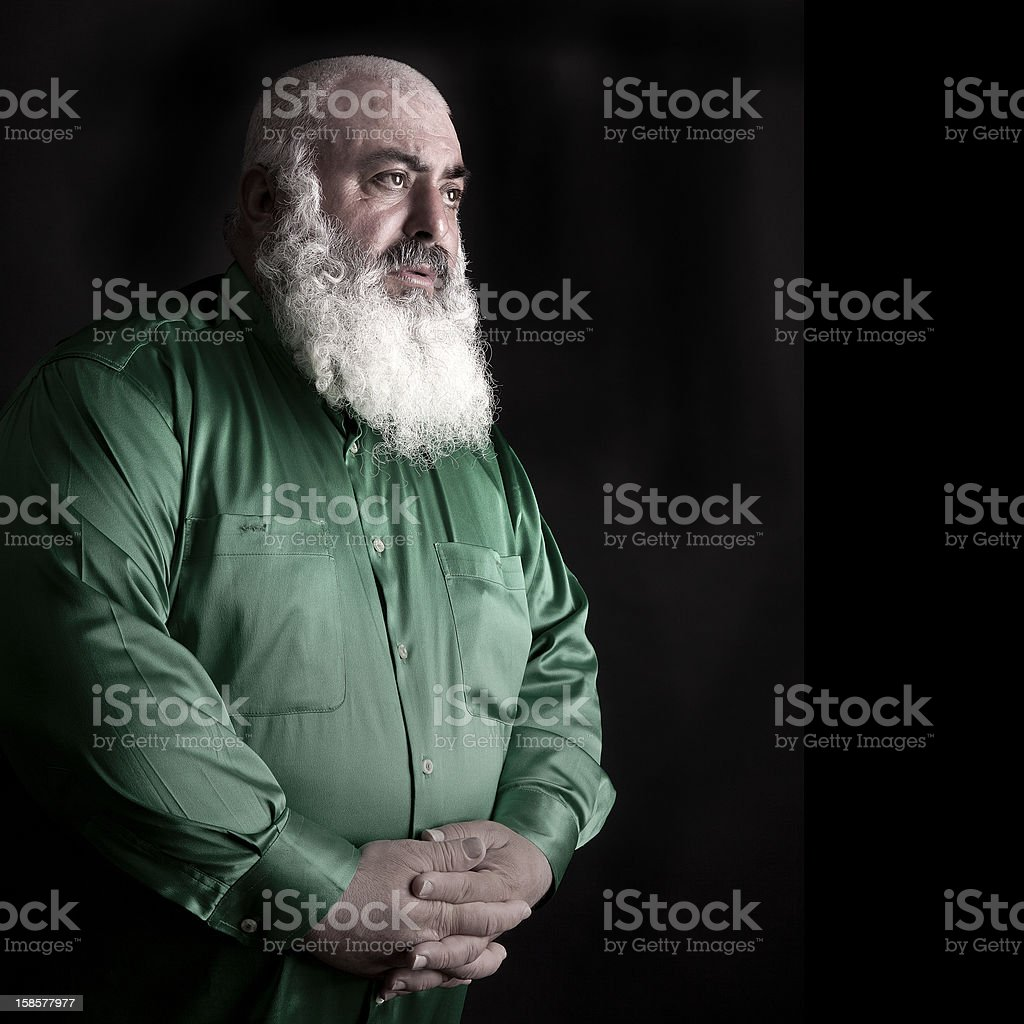 Turkısh Old Man stock photo
