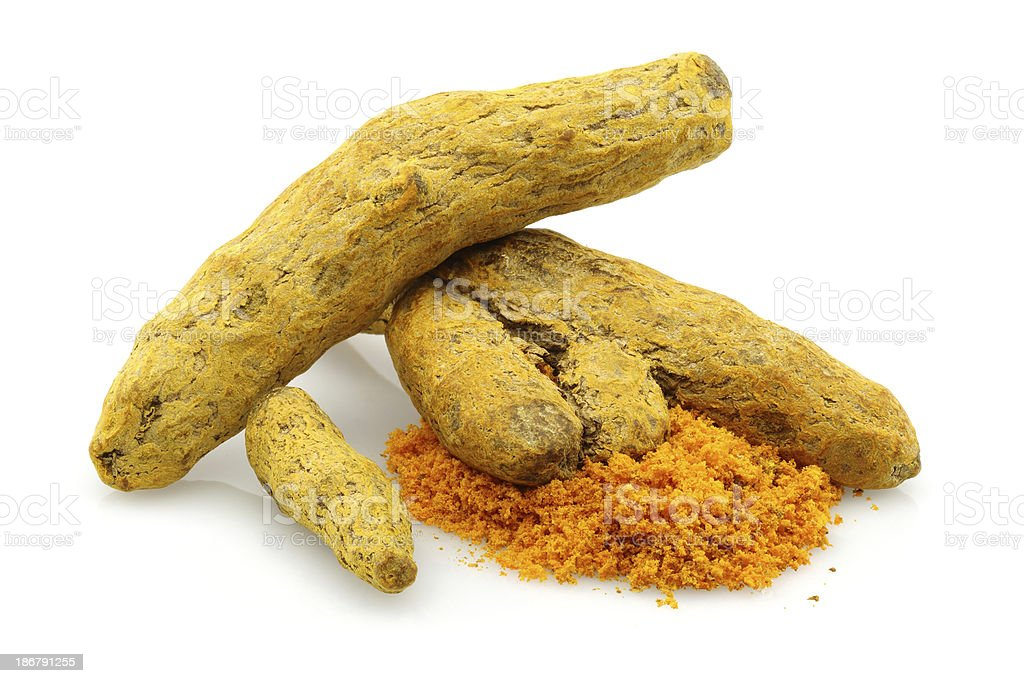 Turmeric group stock photo