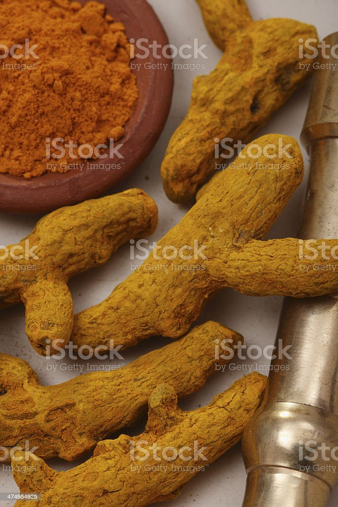 Turmeric stock photo