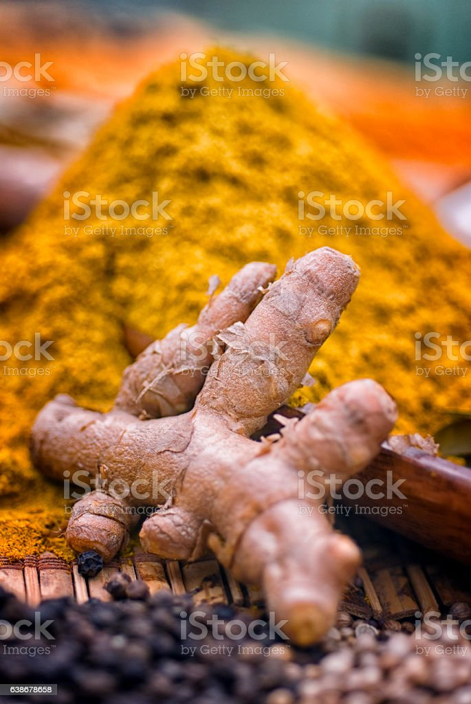 Turmeric is a root of the tropical plant in the same family as...