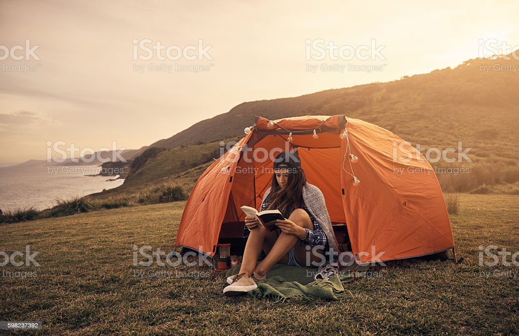 Turn anytime into story time! stock photo