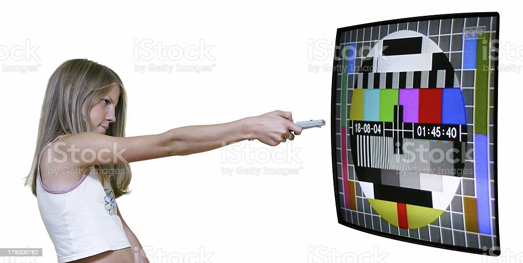 Turn It Off royalty-free stock photo