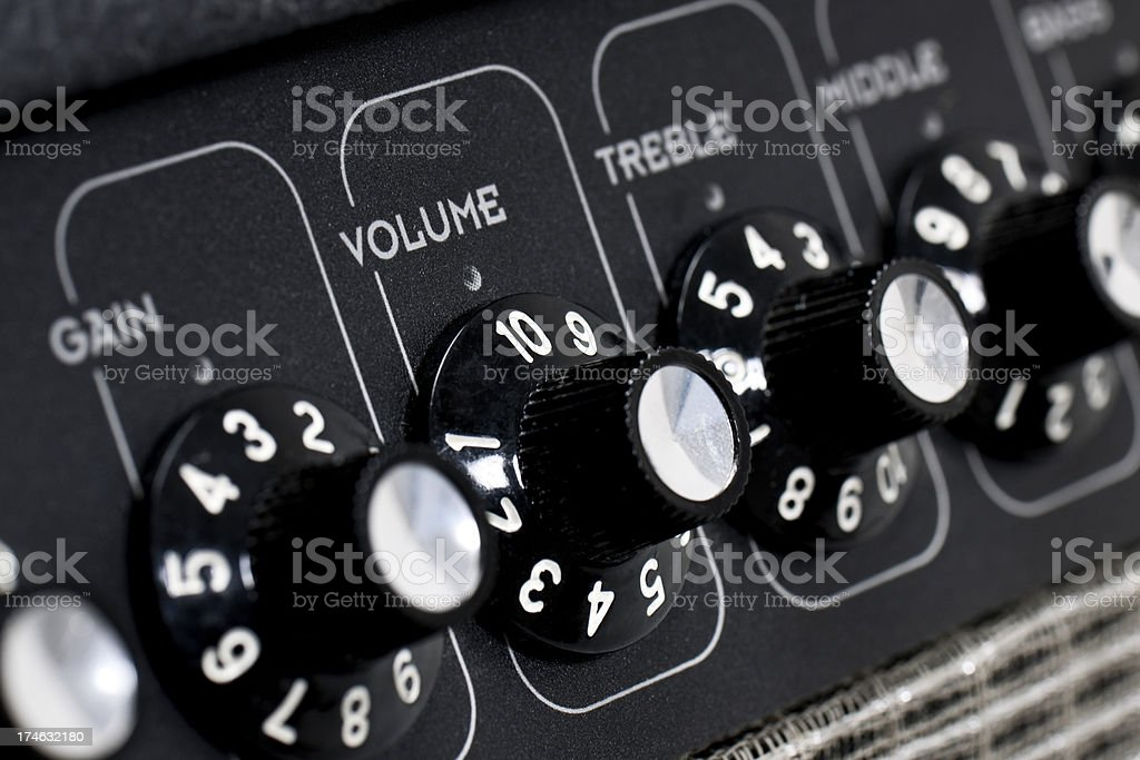 Turn It Up! royalty-free stock photo