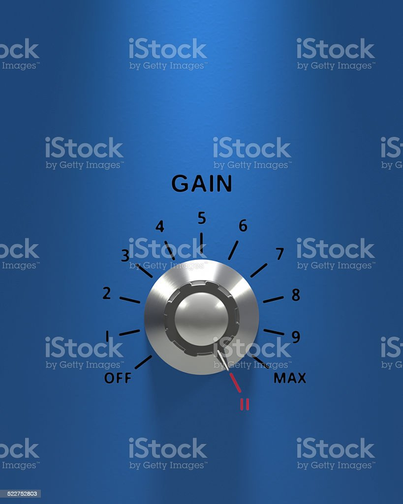 Turn it up to Eleven XL stock photo
