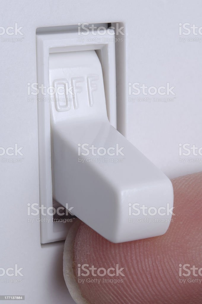 Turn on the Lights royalty-free stock photo