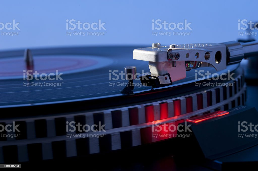 turn table royalty-free stock photo