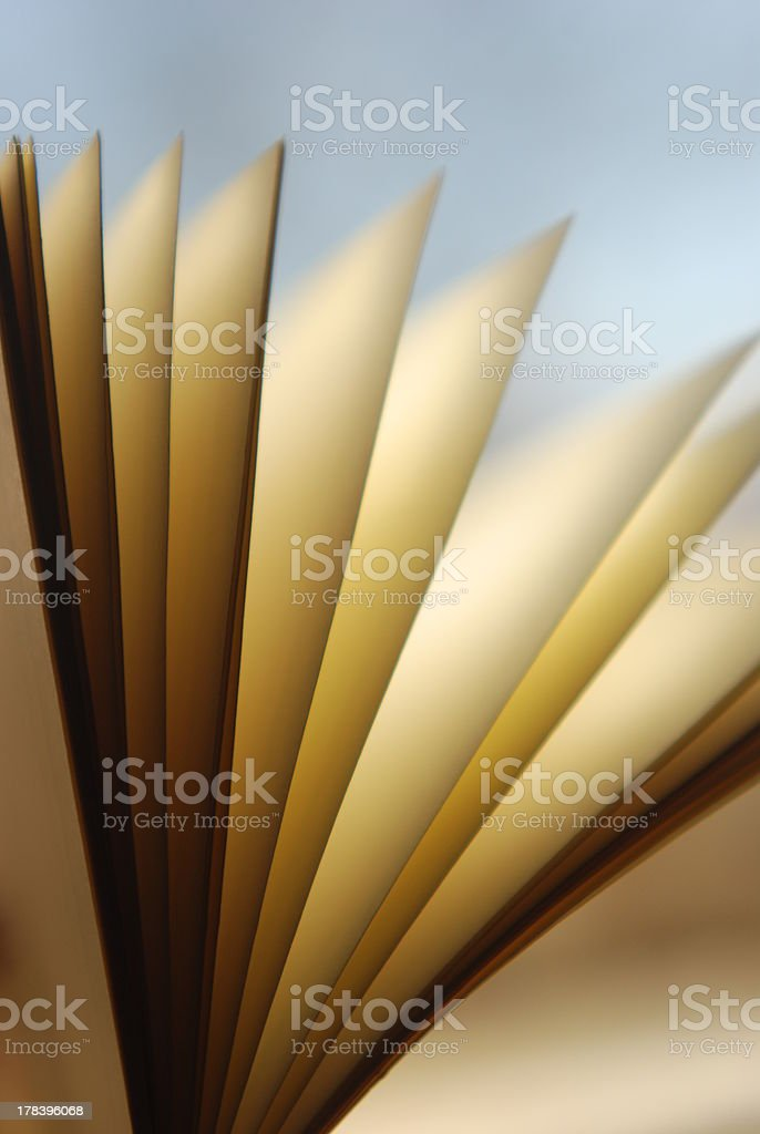 Turn the page royalty-free stock photo