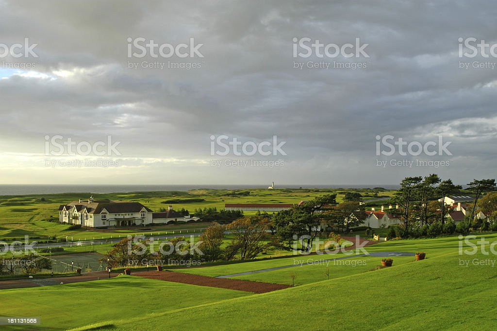 Turnberry Resort, Scotland stock photo