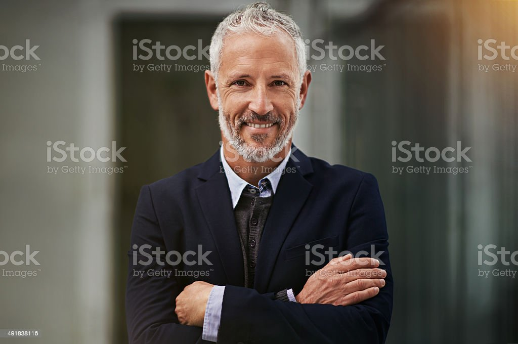 I turned my business dreams into reality stock photo
