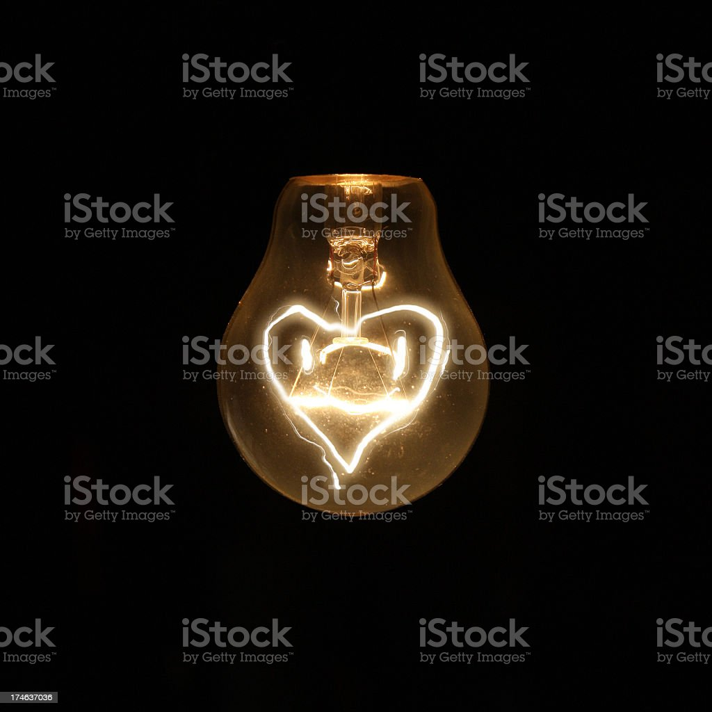 turned on by love royalty-free stock photo