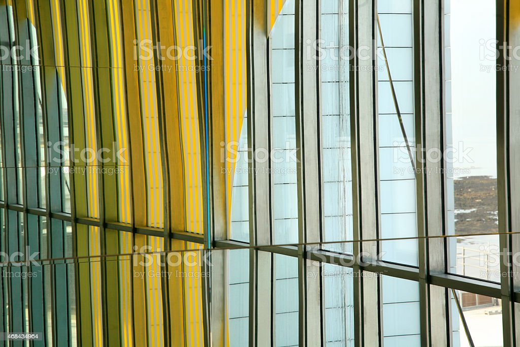 Turner Contemporary art gallery, Margate, East Kent, England. stock photo